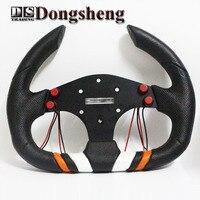 13 MOMO PU Steering Wheel 350MM Steering Wheel PU Sport Steering Wheel Racing Car Steering Wheel