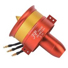Full Metal 70/90/105/120mm Ducted Fan EDF 100A ESC Set 12 Blade 6S-12S Lipo Brushless Motor for RC airplane Model
