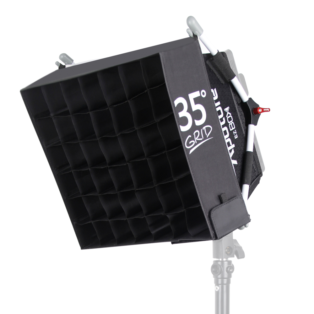Aputure Easy EZ Box+ Diffuser Softbox Easy Box Diffuser + Fabric Grid Kit for 672 528 light aputure amaran tri 8s daylight balanced dimmable led video light panel ez box diffuser kit batteries 2 4g remote control v mount