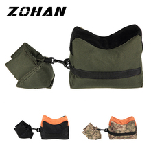 Portable Shooting Rear Gun Rest Bag Set Front & Rifle Target Hunting Bench Unfilled Stand Accessories