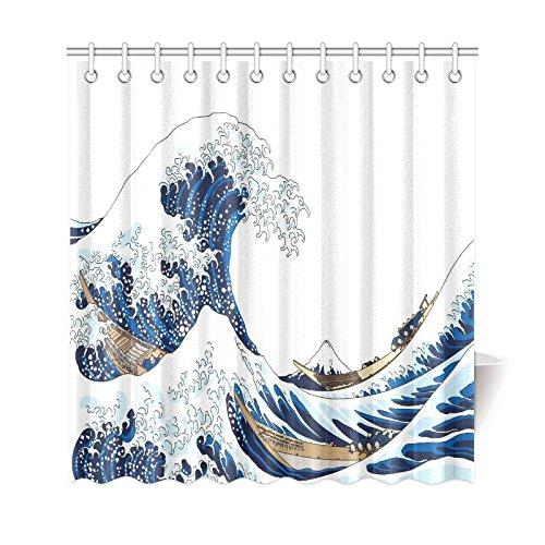 Aplysia The Great Waves Of Kanagawa Home Decor Japanese Ocean