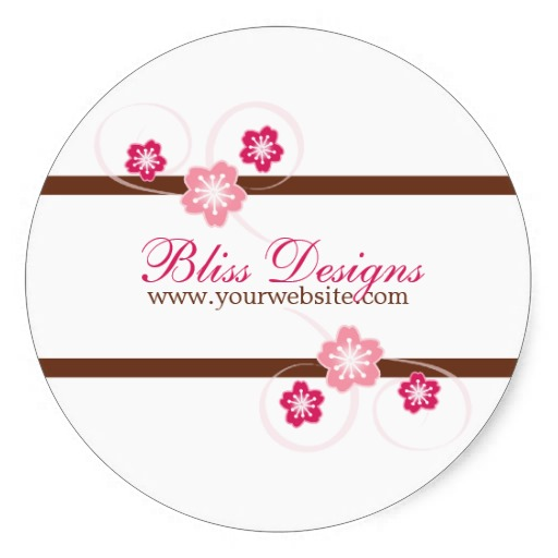 3 8cm pink and brown cherry blossom promo stickers in stickers from home garden on aliexpress com alibaba group