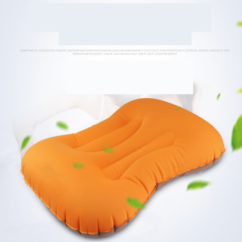 Image 4 - VILEAD Portable Inflatable Pillow 50*36cm Camping Outdoor Hiking Travel Cushion Plane Beach Sleep Ultralight Soft Camping Mat-in Camping Pillows from Sports & Entertainment