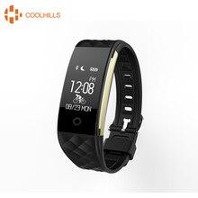 Coolhills S2 smart bluetooth браслет Heart Rate Мониторы Водонепроницаемый IP67 смарт-браслет для Android IOS Телефон Smart Band