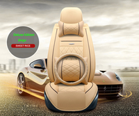 Front+Rear Special Leather car seat covers For Kia K2K3K4K5 Kia Cerato Sportage Optima Maxima carnival accessories styling
