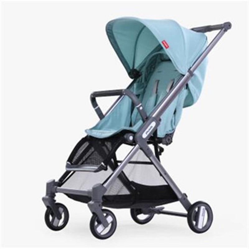 Baby Stroller Plane Lightweight Portable Travelling Pram Children Pushchair Free shipping Umbrella Baby Trolley bair lightweight baby stroller high position pram trolley