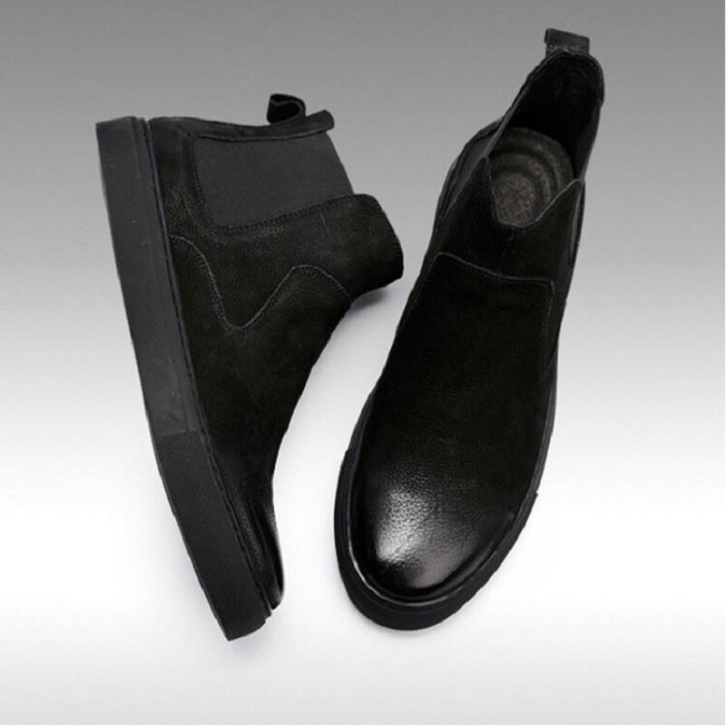 Arranque Al Tobillo Hombres Los Aire Negro Chelsea Invierno Goma Zapatos De Libre Moda Lujo Chuteira Calzado Northmarch Botas Del ZSwaAxq0n