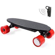 Mini Size 4 Wheels Elektrisches Skateboard 150W Hub-Motor E-Scooter mit Wireless Bluetooth Fernbedienung für Kinder und Teen