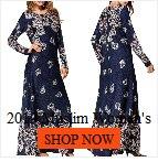 2019 Women Muslim Women Islamic Stripe Print Plus Size Middle East Long Dress islamic clothing caftan marocain abaya turkey