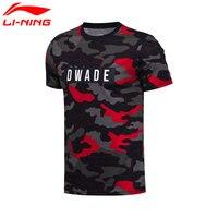 Li Ning Men S Wade Basketball T Shirts 100 Cotton Breathable LiNing Jerseys Sports Tops AHSM217