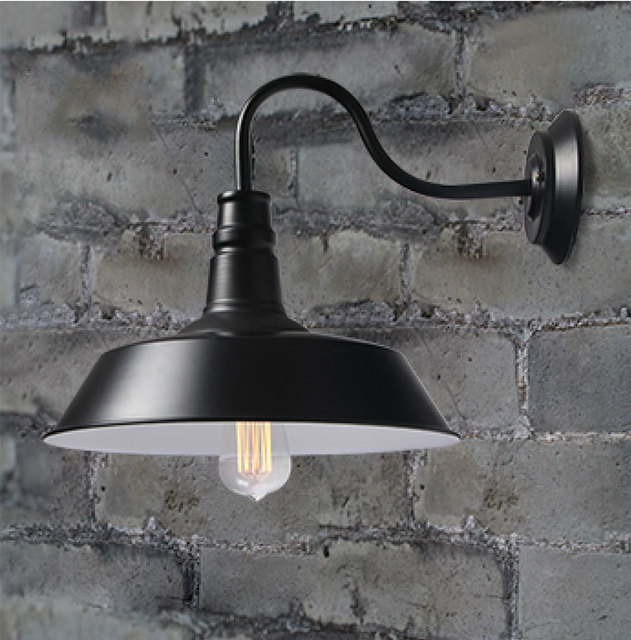 Vintage Industrial Lighting Home Loft Light Fixtures Luminaire D26cm Metal  Wall Lamps Cafe Pendant Light Restaurant
