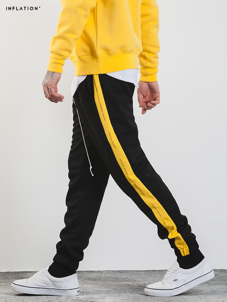 Aliexpress.com  Buy High Quality 2018 Style Men Side Striped Pants Hiphop Fashion Joggers ...