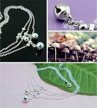 Boho Silver Bells Women's Anklet