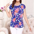2017 New women casual print plus size t-shirts o-neck short sleeve  t shirt women blusa