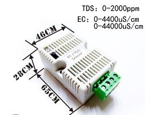 Image 4 - 12 24 v 전원 공급 장치 485 해수 ec 송신기 tds 센서 ec 모듈 4 20ma modbus 485 전도도 TDS0 5V 0 10 v ec/tds 센서