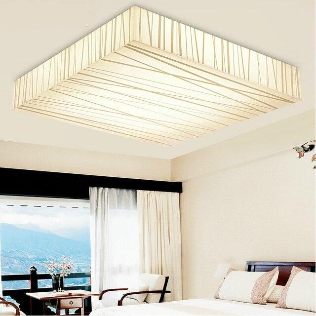 Quadrato di alto potere led lampade soggiorno camera da letto ...
