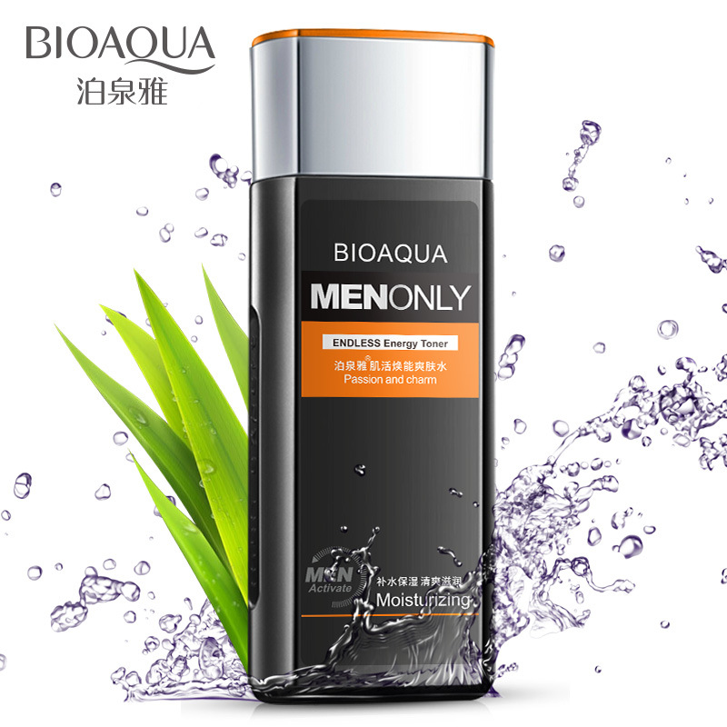 BIOAQUA MEN Energy Hydrating Toner Replenishment Moisturizing Face Care Shrinking pore Oil Control Skin Care Aftershave пилинг mizon pore control peeling toner