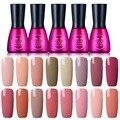Beau Gel Vernis Semi Permanent 7ML UV Nude Series Nail Gel Polish Long Lasting Led Nail Polish Lacquer Need UV Gel