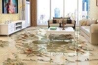 Papel De Parede 3d Europeu HD 3D Mural Floor European Pattern Relief 3D Wallpaper Living Room