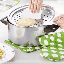 Rvs Spaetzle Maker Deksel met Schraper Duitsland Eieren Noodle Knoedel Maker Thuis Keuken Pasta Koken Gereedschap Accessoires