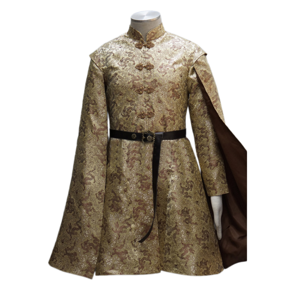 Game of Thrones King Prince Joffrey Baratheon Medieval Mens Cosplay Costume New