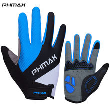 PHMAX Touch Screen Cycling Gloves Liquid Silicone Anti Slip Gel Pad Motorcycle MTB Bike Gloves Men Women Sports Bicycle Gloves(China)