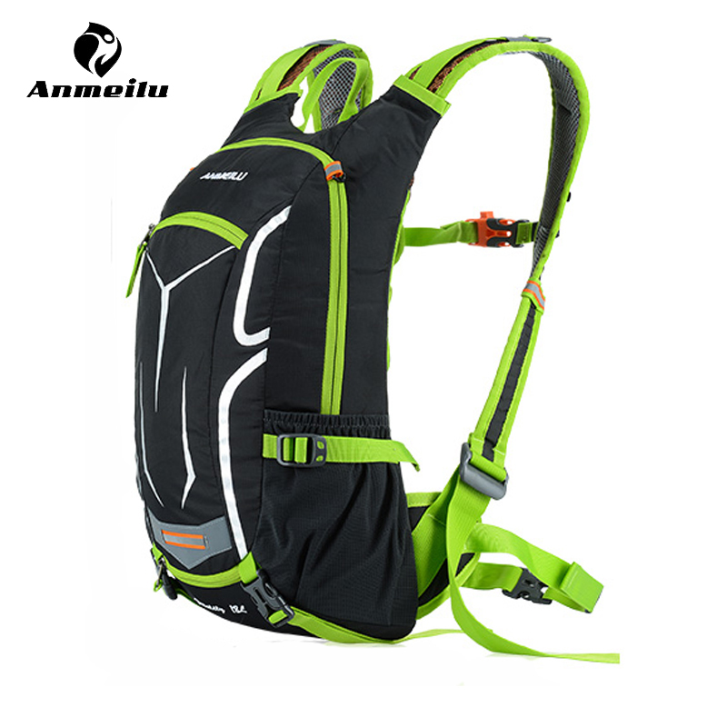 Anmeilu 18L Cycling Hydration Backpack Waterproof Nylon Bicycle Bag With Rain Cover Bike Water Bag Climbing