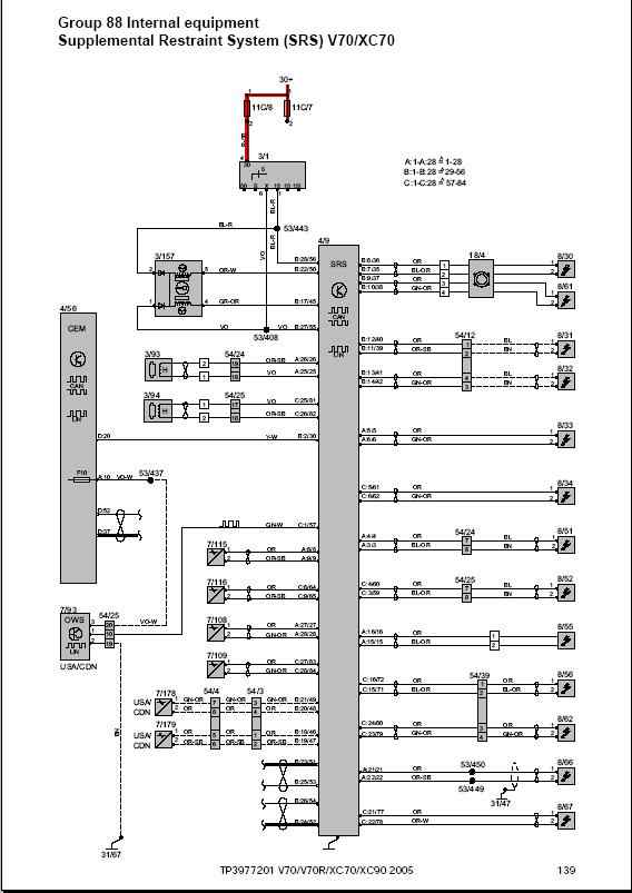 wiring diagrams 2004-2014 for volvo