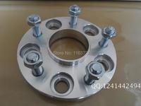 2 pcs 25mm 5x114.3 66.1 rodas espaçadores adaptador para Nissan 350Z 370Z Pregos 12x1.25