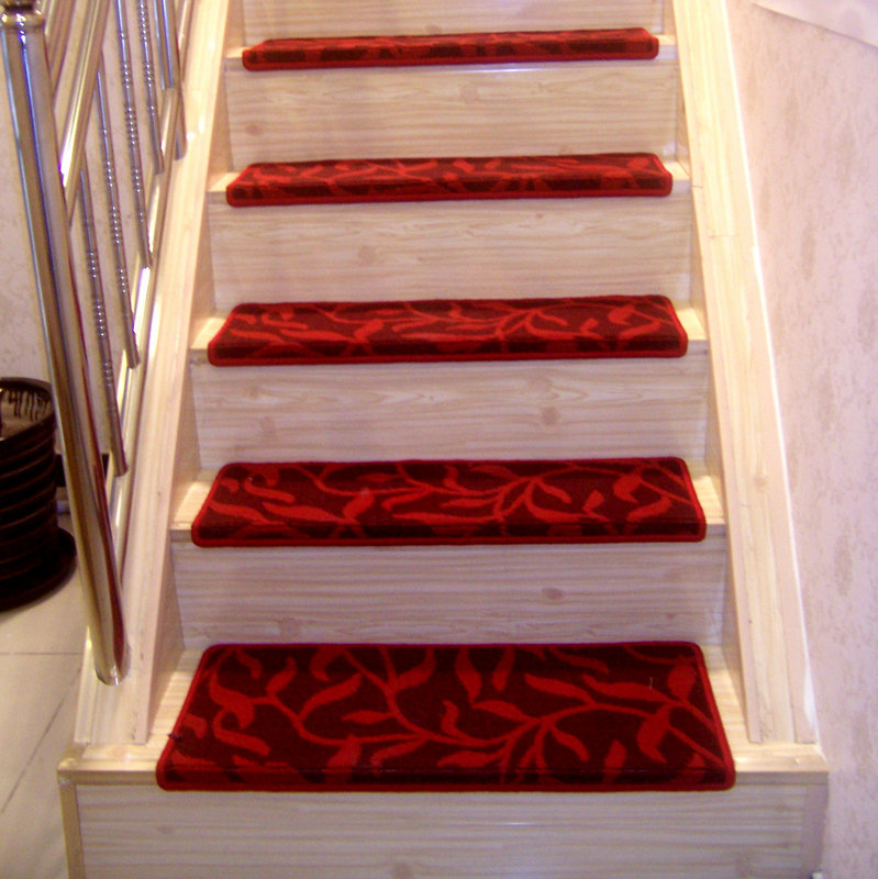 Merveilleux High Grade Staircase Carpets Non Slip Mats And Rugs For Stairs Skid Treads  Pad Thickening /Durable Stable Adhesion No Glue QB 1 In Carpet From Home U0026  Garden ...