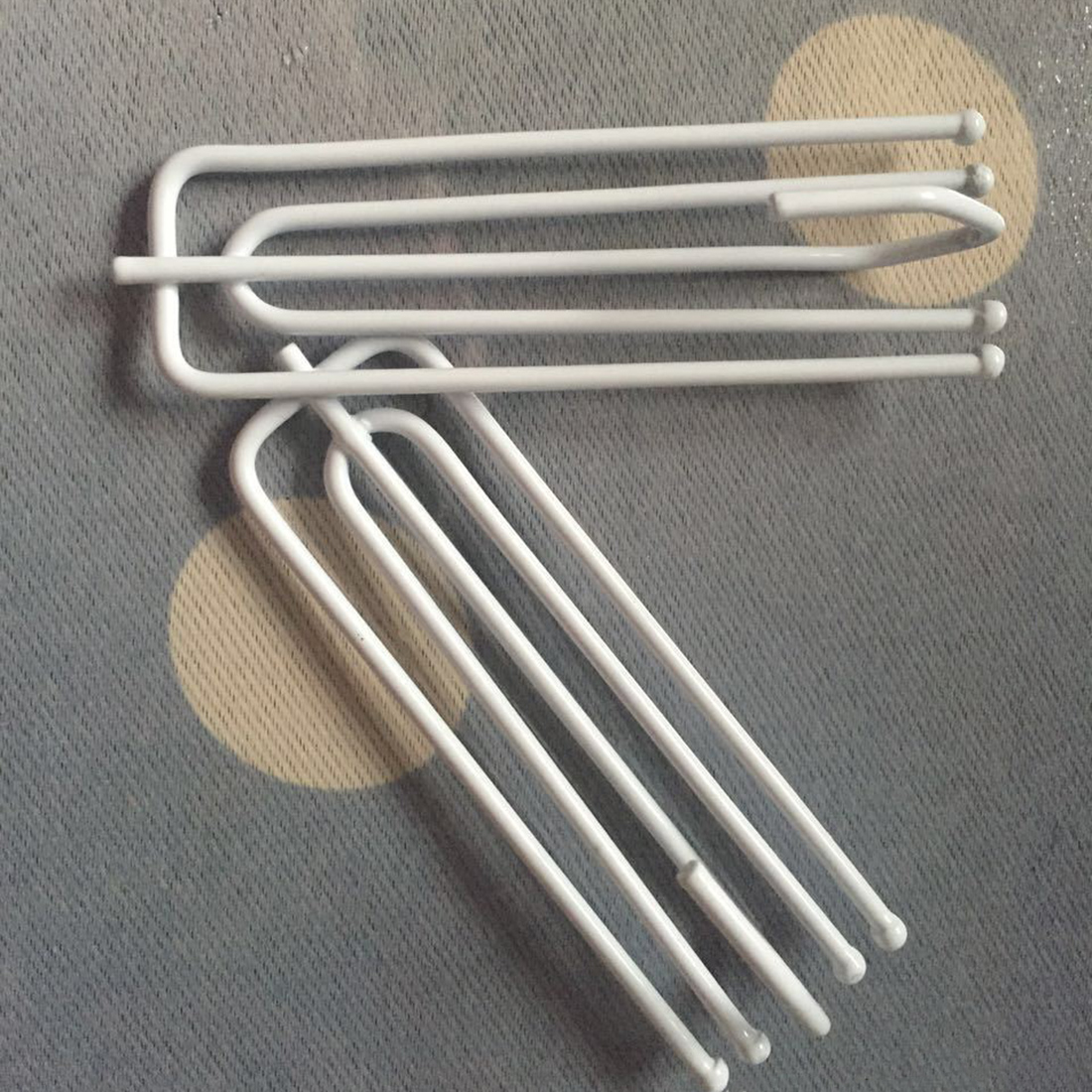 20 Stks Anti Roest Roestvrij Gordijn Haken 4 Voeten Synthese Metalen