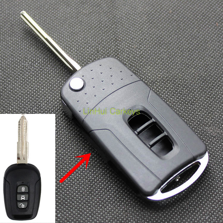 PINECONE Key Case for CHEVROLET CAPTIVA Car Key 3 Buttons Modified Blank Key Shell Cover 1 PCPINECONE Key Case for CHEVROLET CAPTIVA Car Key 3 Buttons Modified Blank Key Shell Cover 1 PC