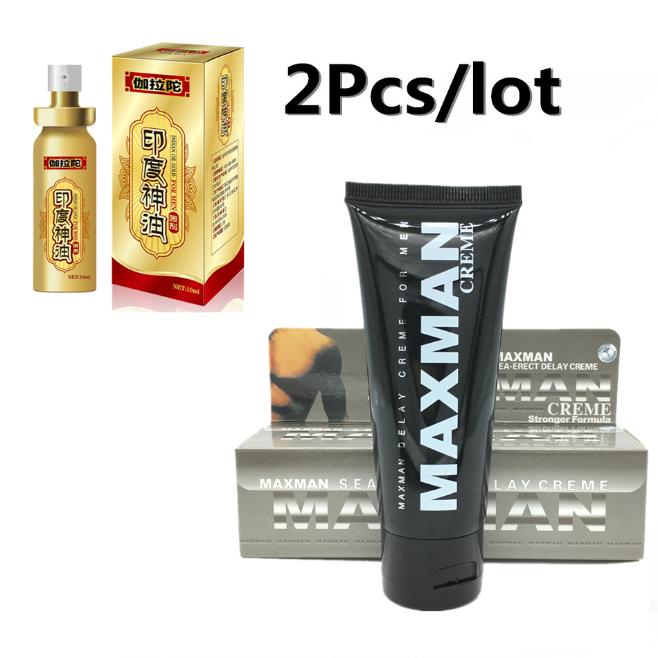2pcs Lot Male Sex Delay Spray Enlarge Penis Creamincrease Msi Bamboo Charcoal Extender Erection Growth Treatment Of Premature Ejaculation