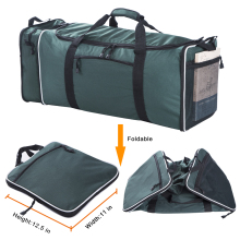 Flyone LARGE TRAVEL DUFFLE Bolsa de 11x12.5x25 pulgadas con capacidad de 57L Poliéster Travel Duffel Bags Bolso plegable Single Shoulder Strap