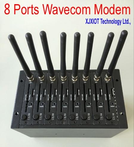 Wavecom Original Q2406B Factory 8 ports  GSM Modem Pool  for Bulk sms mms receiving sending Cheapest