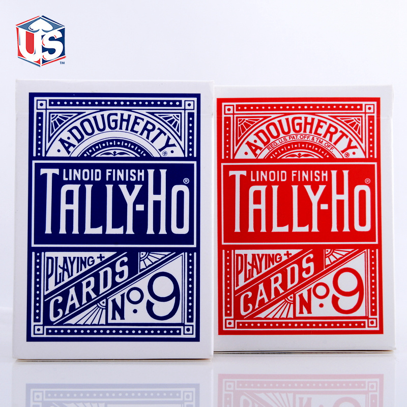 New Magicians Favorite Original Tally-Ho Playing Cards Advanced Paper Poker Magic Tricks Gift Collection Poker