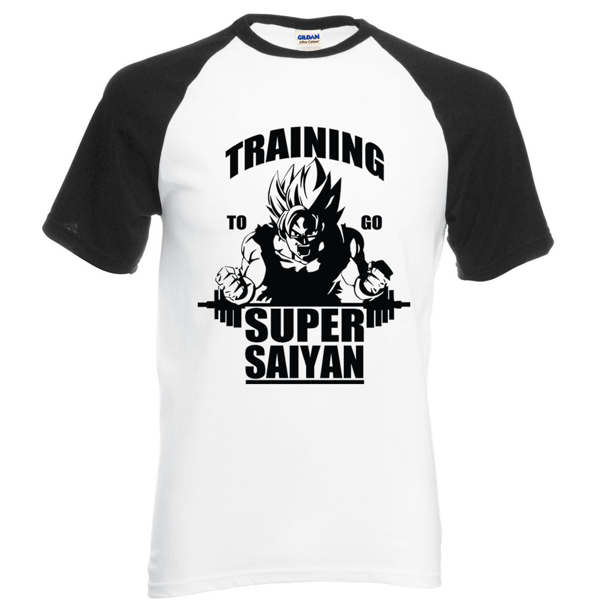 Trainning To Go Super Saiyan DBZ T-shirts