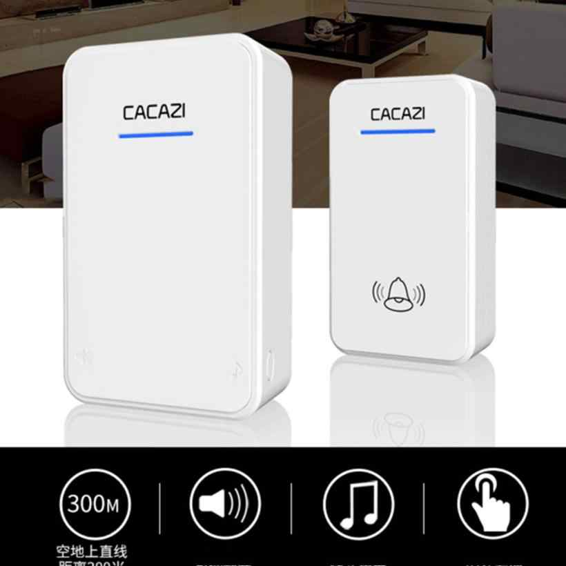ZMHEGW 2018 Wireless Remote Control Chime Door Chuông Báo Động Cửa Doorbell Với 38-Melody nhà Thông Minh phụ kiện # XTN