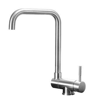 Inner window faucet hot and cold 304 stainless steel kitchen sink faucet Universal sink faucet  lo41021