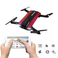 Hot JJRC Selfie Drone 2.4G 6 Axis Remote Control Foldable Arms HD Camera WiFi FPV Altitude RC Quadcopter/Toy Plane