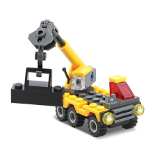 Kazi 52Pcs City Construction Truck Crane Building blocks Assembled Model Toys For Child's
