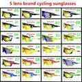 24 цвет 5 объектива Спорт солнцезащитные очки велоспорт очки Велосипедов очки велосипед Очки kask куб wilier lazer преобладают кастелли GENETYK D