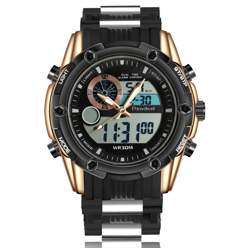 2018 Top Luxury Brand Watches Men Analog Digital Quartz Clock Male Men's Military Sports Wrist Watch Relogio Masculino Relojes