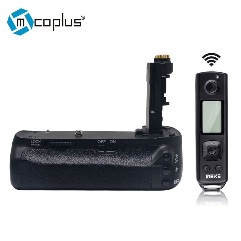 Mcoplus Meike Battery Grip Built-in 2.4g Wireless Control for Canon 6D Mark II 6D2 DSLR Camera replacement EG-E21 meike mk 760d pro built in 2 4g wireless control battery grip suit for canon 750d 760d as bg e18
