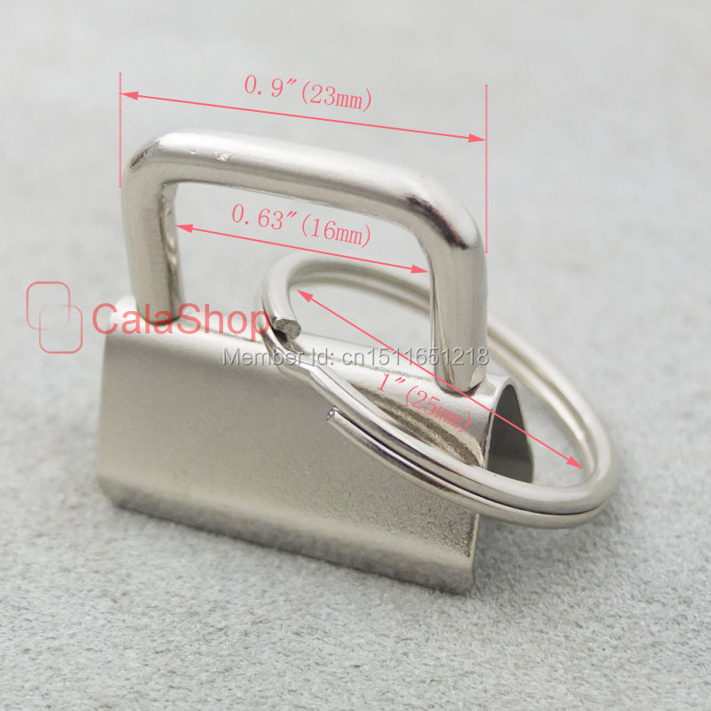 50 компл./лот 1-дюймовыечистые этикетки пробки с фокусным расстоянием 25 мм брелок оборудования брелок Разделение Кольцо наручные часы с ремешком из хлопка с кольцо для ключей