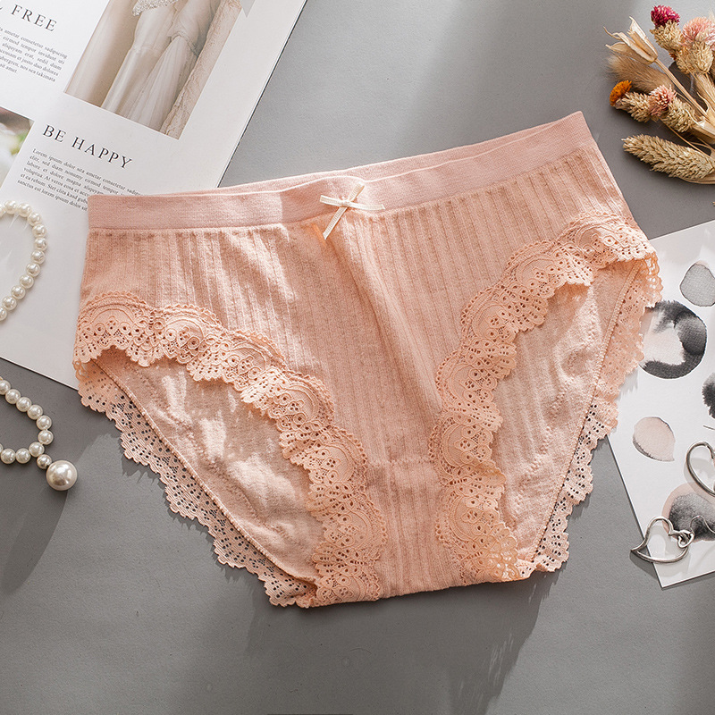 Women panties sexy Lace Abdomen Hip Fashionable 2019 spring summer new products Modal Seamless women's panties