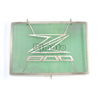 Newest Green Motorcycle Radiator Grille Guard Cover Protector Accessories For KAWASAKI Z800 2013 2015