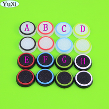16pcs/8pairs Game Pads Protective Cover Silicone Thumb Stick Grip Caps