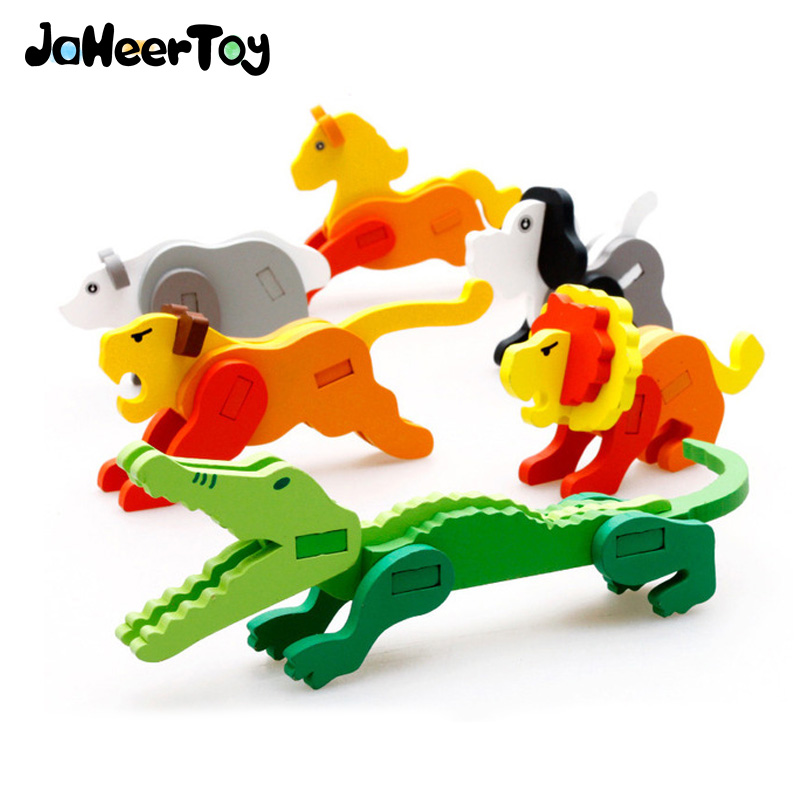 Toys For Kids 4 5 : Jaheertoy baby wooden toys d puzzle animal rabbit