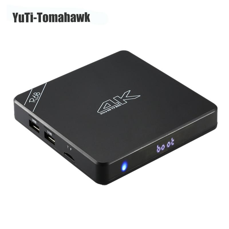 R68 1GB/8GB RK3368 Android 5.1 TV Box 64 Bits Octa Core 4K*2K 1080P Mini PC BT4.0 Wifi KODI XBMC Miracast DLNA H.265 Smart STB zidoo x6 android 5 1 tv box rk3368 octa core kodi 3d mini pc